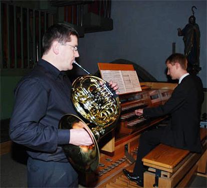 Konzert Burth/Buck; Foto: Hans Knoll