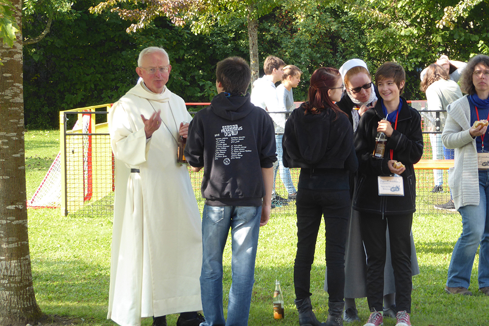 FF 2017 Im Gespräch Mit Bischof Hugh, Schottland