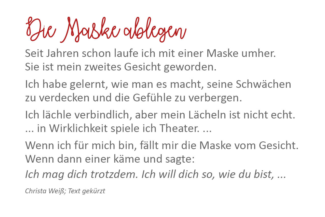 05 Text Maske